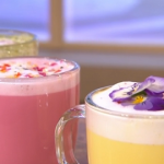 Andrew Cooper unicorn lattes recipes on This Morning