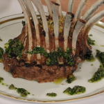 Anna Haugh stuffed crown of lamb with salsa verde recipe
