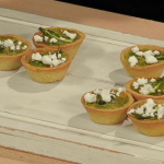 Anna Haugh asparagus and watercress mini tartlets recipe