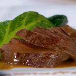Anna Haugh venison with juniper sauce recipe