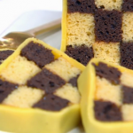 Paul Ainsworth Battenburg cake with apricot jam on Royal Recipes