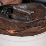 Anna's andrassy pudding made with chocolate souffle on Royal Recipes