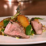 Anna's roasted duck and peach salad on Royal Recipes