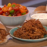 Phil Vickery pulled pork TV dinner recipe on This Morning