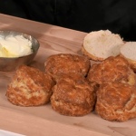 Paul Ainsworth scones and chocolate eclairs on Royal Recipes