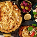 Dean's Greek pasta bake recipe on Lorraine