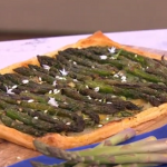 Phil Vickery asparagus spring tart recipe on This Morning