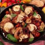 Dean Edwards baked caprese chicken recipe on Lorraine