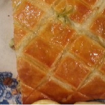 Jane Beedle Salmon and Pesto puff recipe on Lorraine