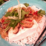 Ching's steamed halibut with hot wok sauce recipe on Lorraine