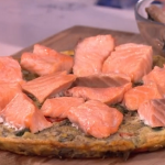 Phil's salmon frittata recipe on This Morning