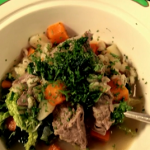 The hairy bikers Scotch broth with lamb shoulder and barley recipe on Hairy Bikers' Best of British