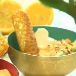 Nadia's sweet souffle treat recipe on Lorraine
