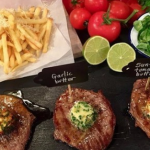 Dean's midweek steak and frites recipe on Lorraine