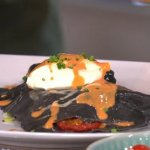 Phil Vickery lasagna with tomato olive butter sauce recipe on This Morning