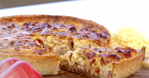 Phil Vickery Quiche Lorraine recipe on This Morning - The ...