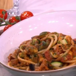 Gino's aubergine with courgette recipe for a taste of Italy on This Morning