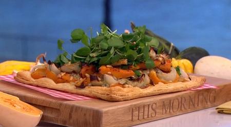 Phil Vickery autumnal squash tart recipe on This Morning ...