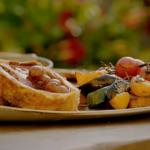 Gino's Beef Wellington with Amarena cherry gravy recipe