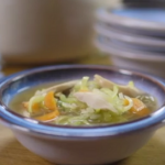 Mary Berry cock-a-leekie soup recipe on Mary Berry's Country House Secrets