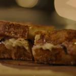 Nigella Lawson fried figs with Parma ham and brie sandwich recipe