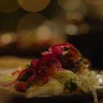 Nigella Lawson spiced lamb kofta with garlic sauce recipe on Nigella: At My Table
