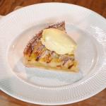 Paul Ainsworth caramelised pear tart recipe on Royal Recipes