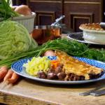 Anna Haugh pigeon pie using Queen Victoria's recipe on Royal Recipes