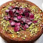 Yotam's semolina with Pistachio and yoghurt cake on Sunday Brunch