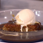 Phil's sweet and sticky toffee pudding recipe on This Morning