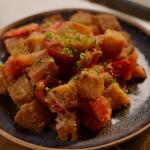 Nigella Lawson tomato and fried bread hash recipe