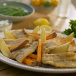 Matt Tebbutt homemade fish and chips with tartar sauce recipe