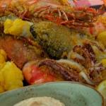 Gino's fritto misto mixed fried fish with spicy lemon mayonnaise recipe