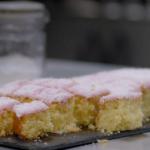Paul Hollywood coconut tray bake recipe on Paul Hollywood: A Baker's Life