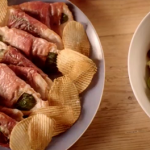 The Bikers turkey saltimbocca with a bacon and Brussels sprout salad recipe