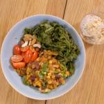 Stacie Stewart vegan chilli beans with vegetables recipe