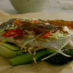 Tom Kerridge Chinese style Fish-in-a-bag recipe on  Lose Weight For Good