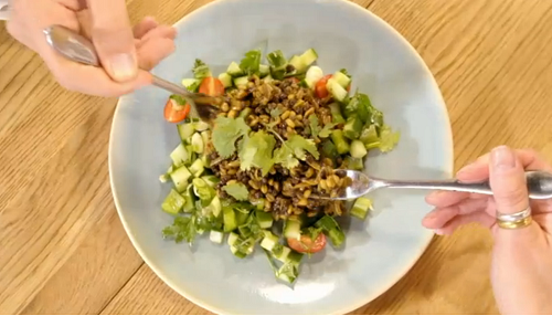 Stacie Stewart freekeh and lentils salad recipe for the ...