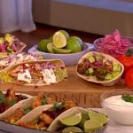 Phil Vickery 'three way' tacos recipe on This Morning