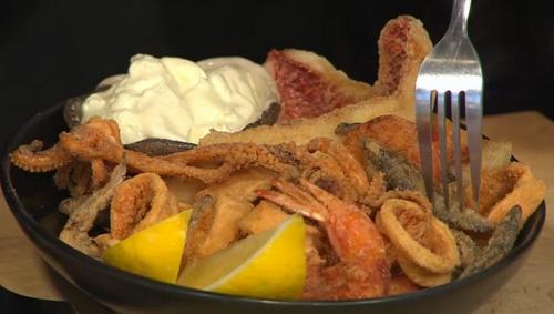 Omar Allibhoy pescaito frito recipe on Sunday Brunch - The ...