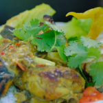 Jamie Oliver game-on curry with aubergines recipe