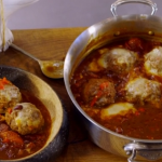 James Martin Texas meatballs with cheese recipe