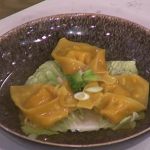 Kwoklyn Wan wonton soup recipe on This Morning