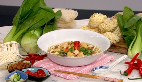 Gok Wan healthy comfort food with noodles recipe on This ...