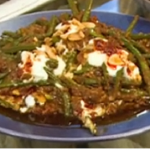 Sabrina Ghayour spiced green bean and tomato stew recipe