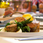 Paul Ainsworth (cotelettes d'agneau Prince Albert) lamb chops with sweetbreads recipe