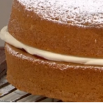 Juliet Sear Victoria Sponge recipe for The sweetest street party treats on This Morning