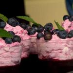 Simon Rimmer Blueberry Jelly Fool recipe on Sunday Brunch