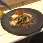 Phil Vickery ratatouille with gurnard recipe on This Morning