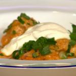 Simon Rimmer Monkfish Goulash recipe on Sunday Brunch